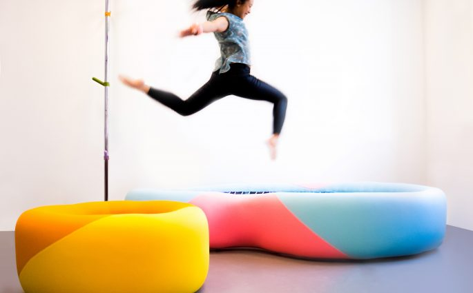 Domestic Body mobilier trampoline