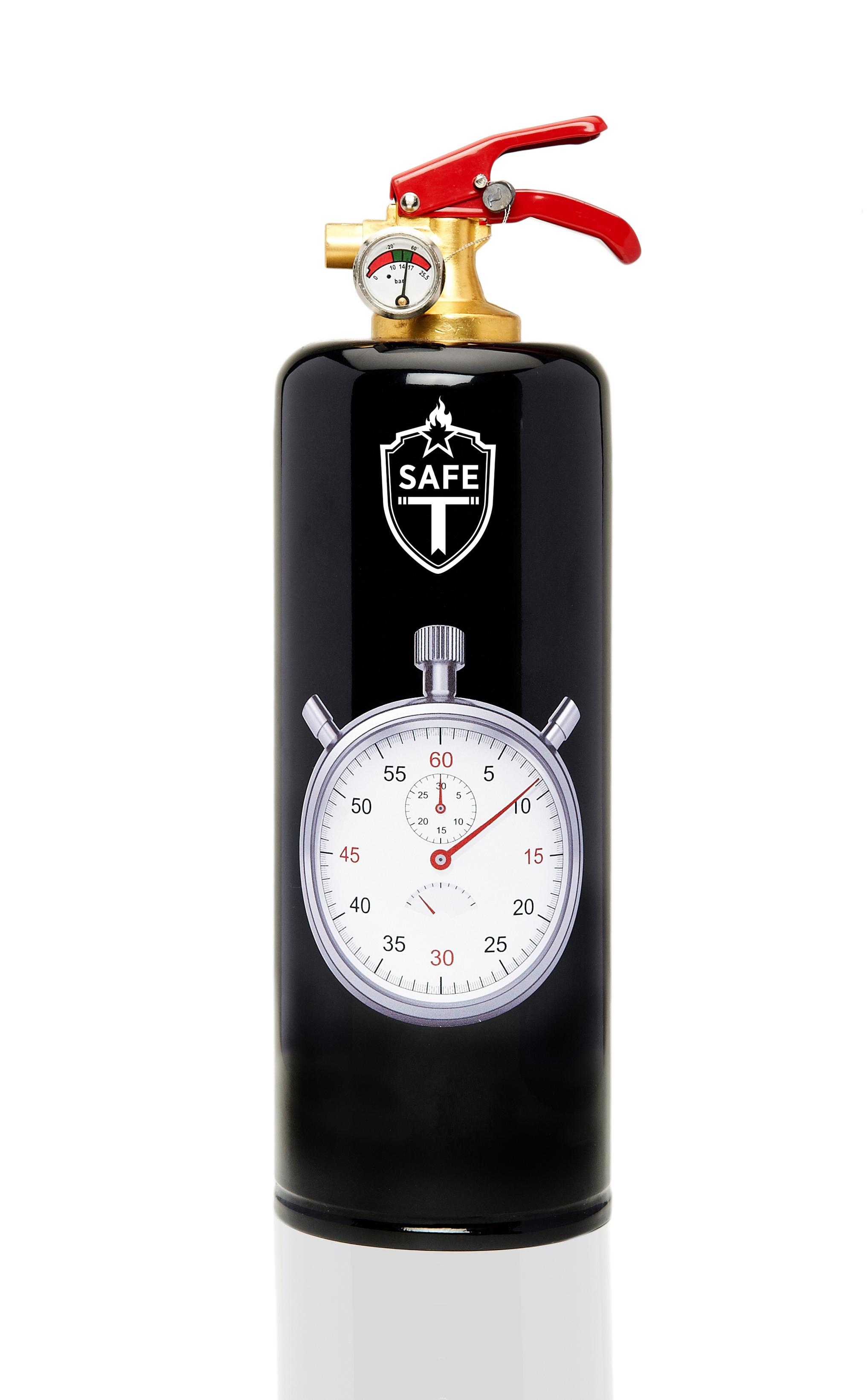 Extincteur Safe T / Motif Horloge