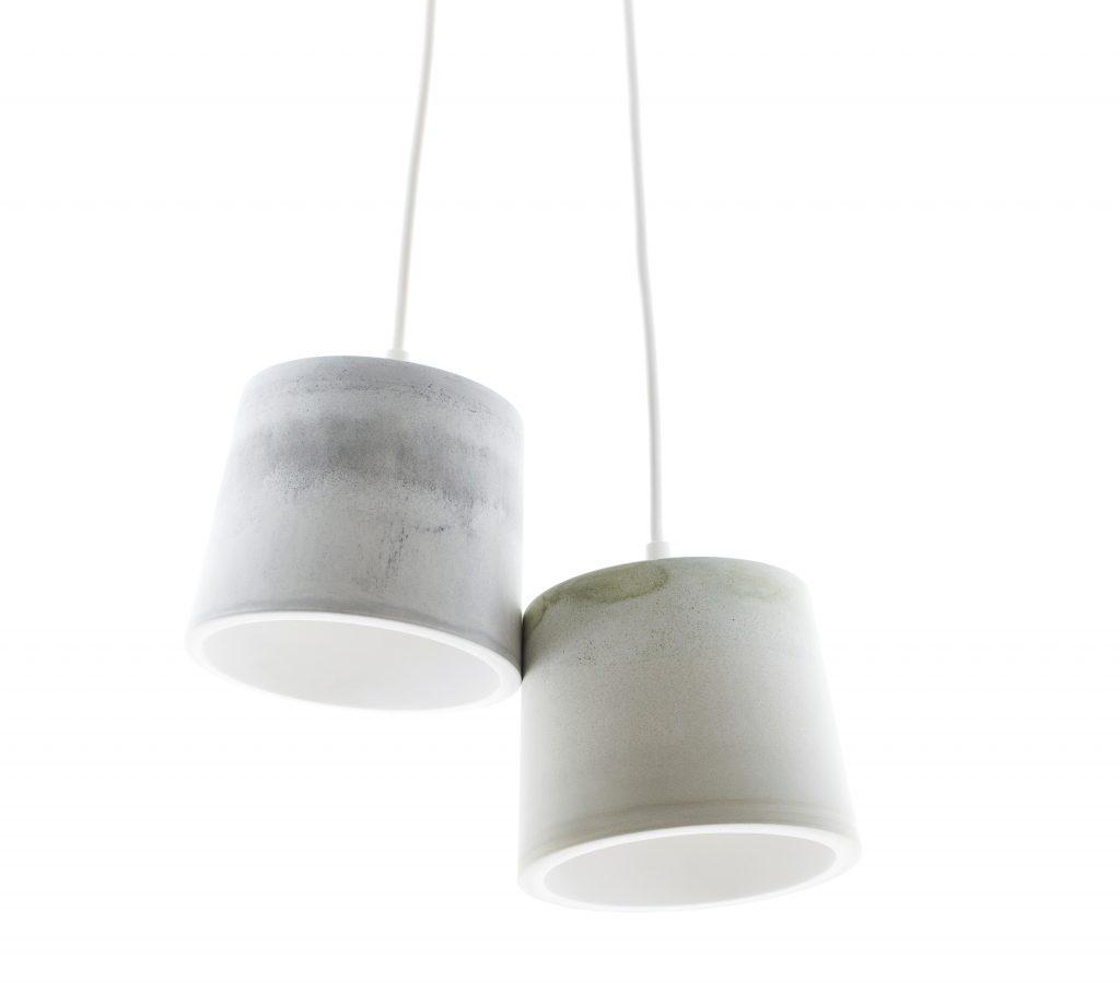 Lampe en plâtre synthetique