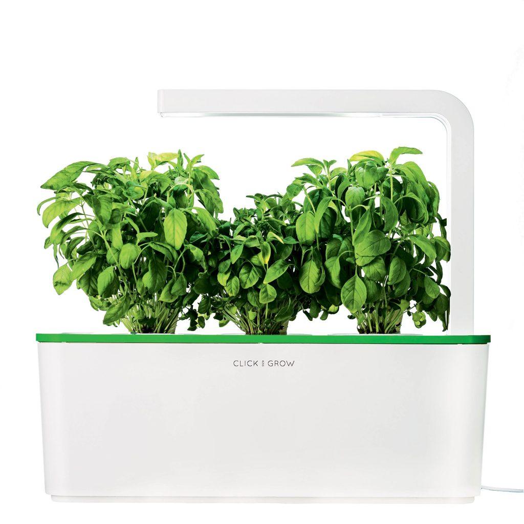 Potager connecté : le Herb Garden de Click and Grow