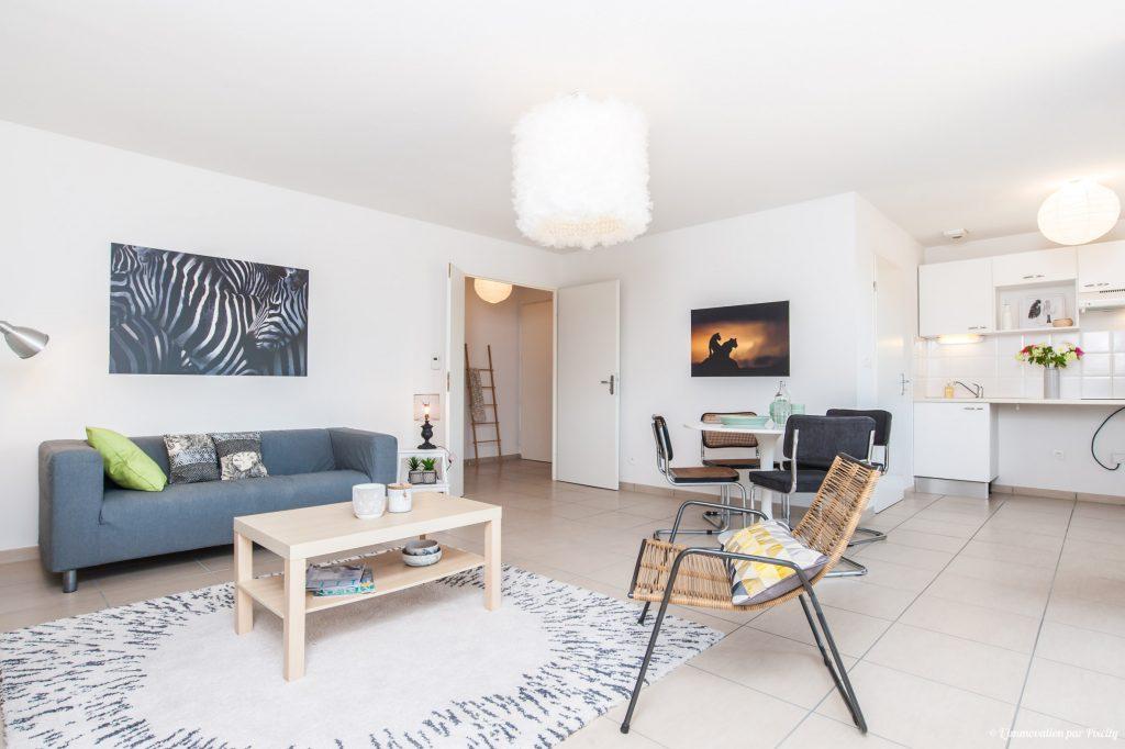 l immovation fait du home staging avec des artistes toulousains de fil en d co. Black Bedroom Furniture Sets. Home Design Ideas