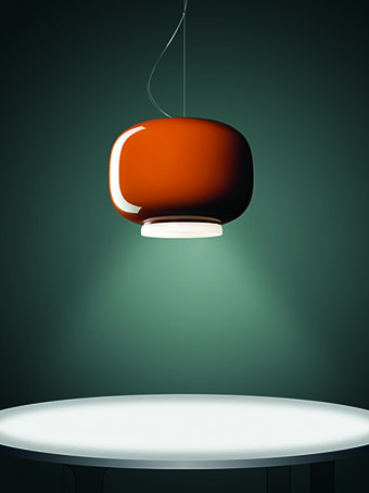Grande suspension de couleur © Foscarini - Chouchin