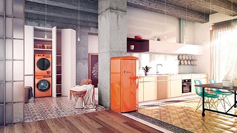 Cuisine et électroménager colorés © Gorenje