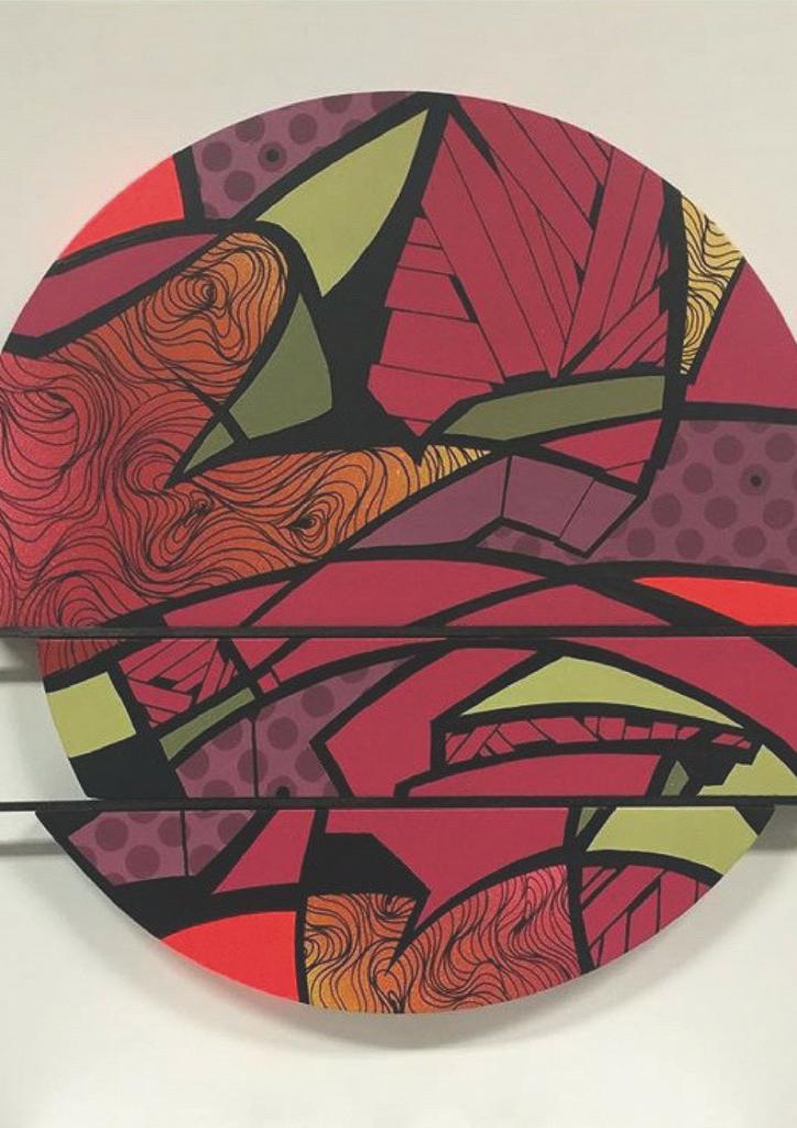 Le street art est dans la place de fil en d co for Art et decoration download