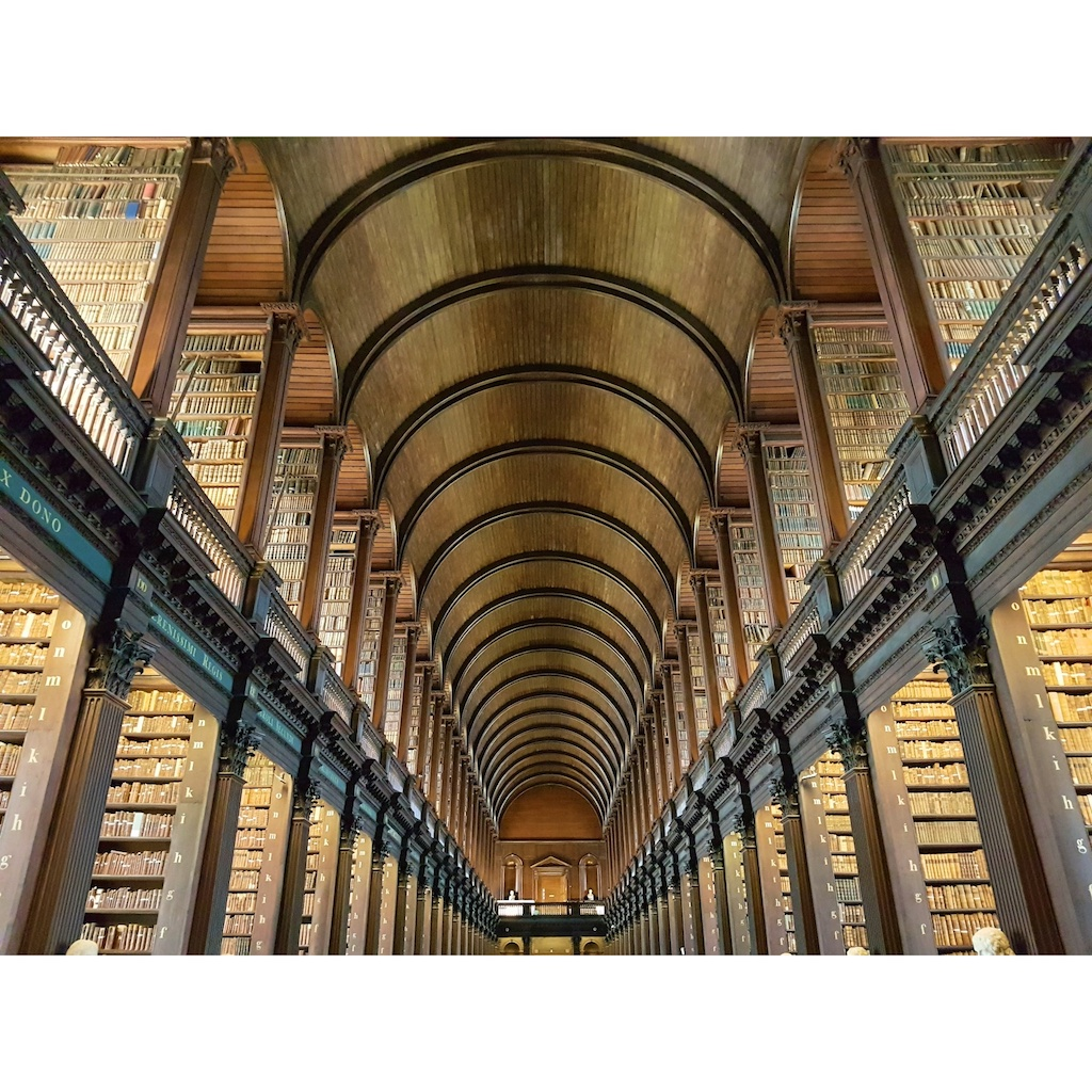 The Book of Kell - Trinity College