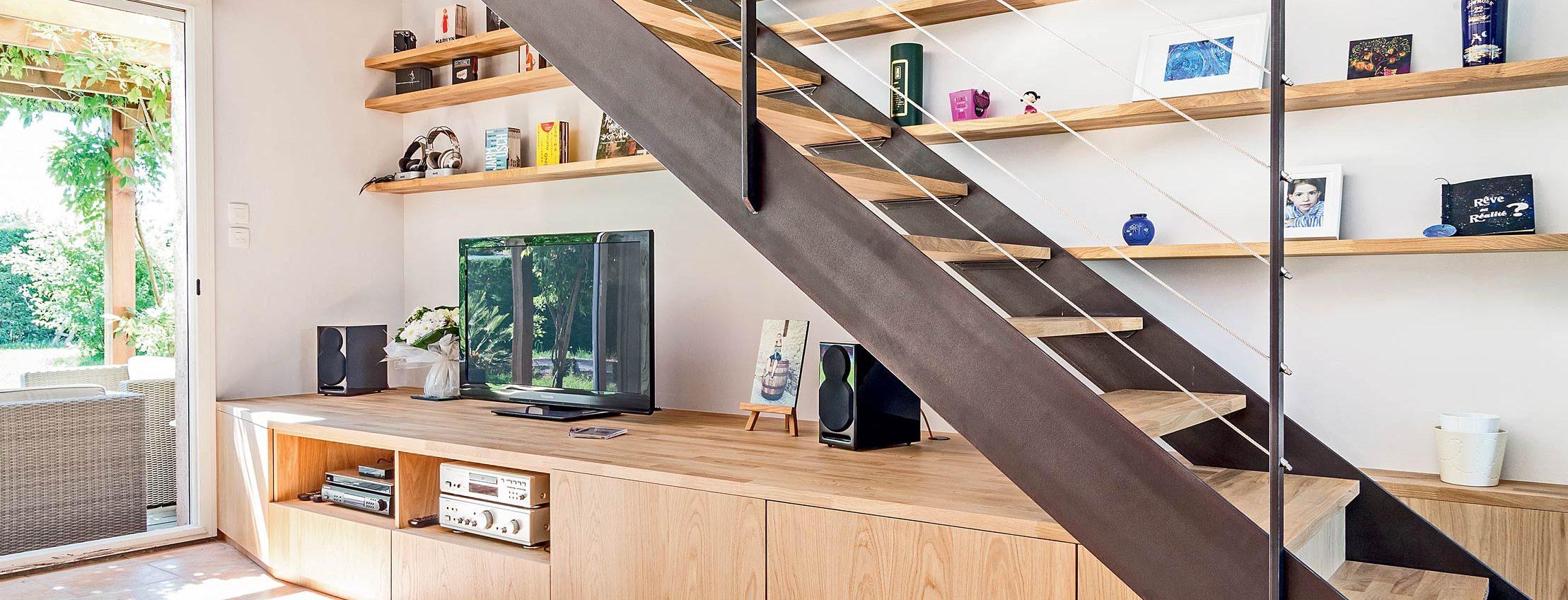 Creer Un Meuble Sous Escalier sous l'escalier, la bonne idée - de fil en déco
