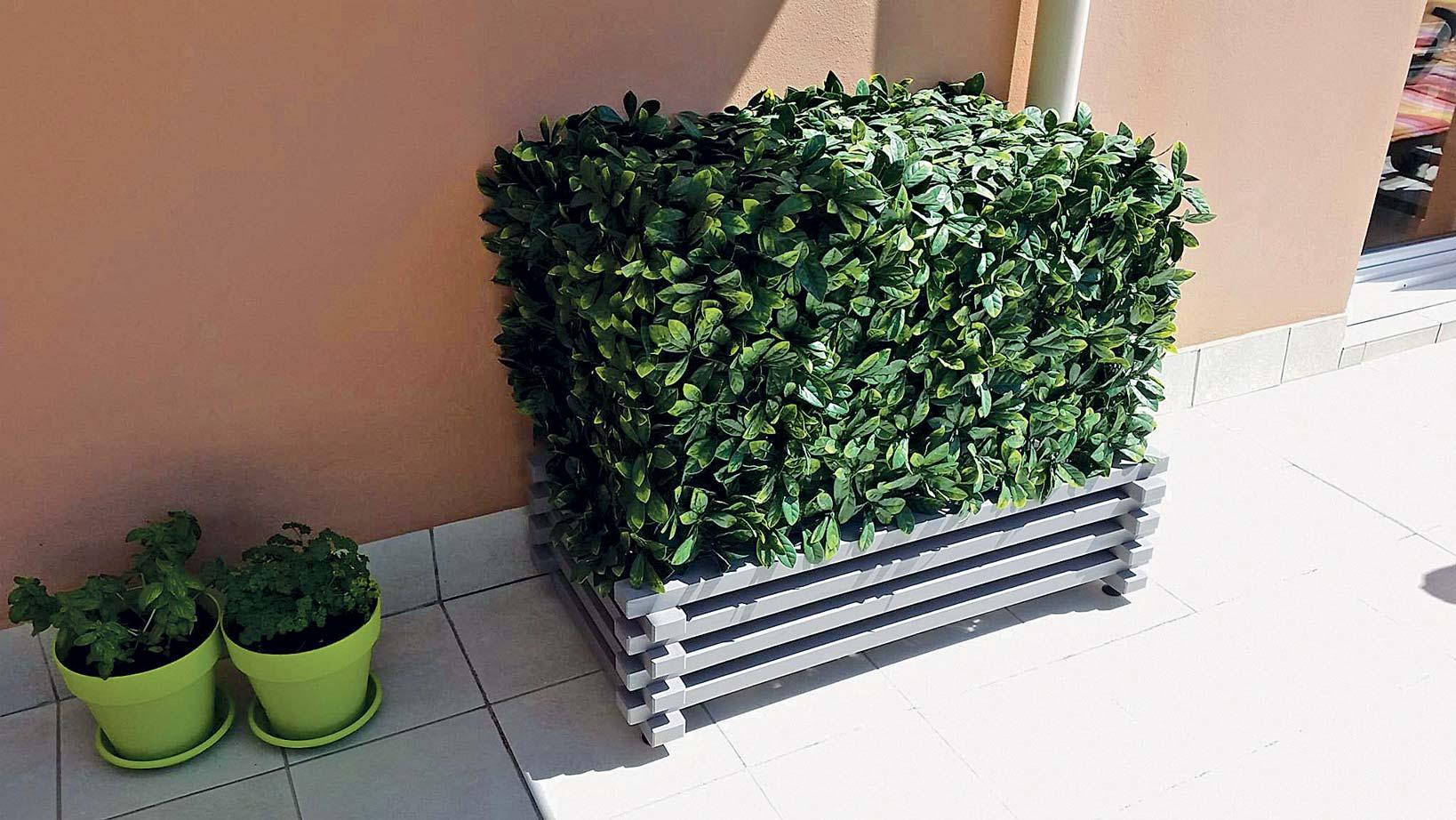 Comment Cacher Sa Terrasse comment cacher sa climatisation ? - de fil en déco